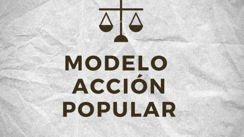 Modelo Acción Popular Bolivia