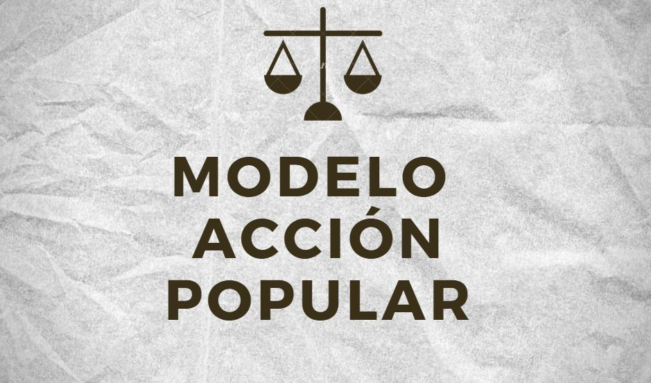 Modelo Acción Popular Bolivia